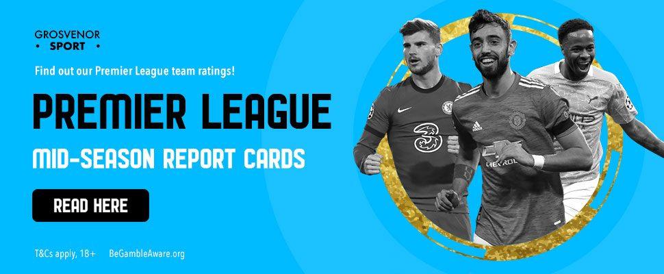 Grosvenor Sport's mid-season rankings and Premier League predictions